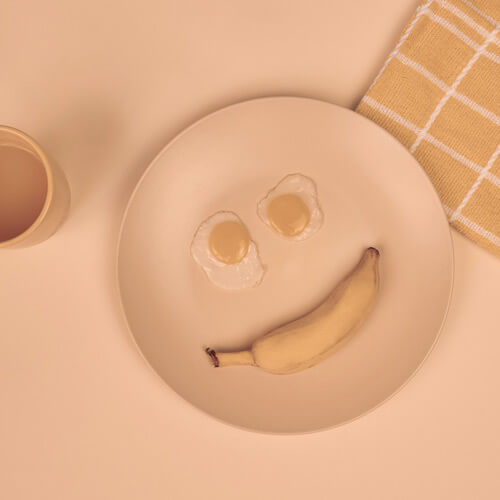 sorriso confortável